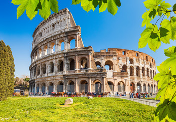 Canvas Prints Rome Colosseum in Rome