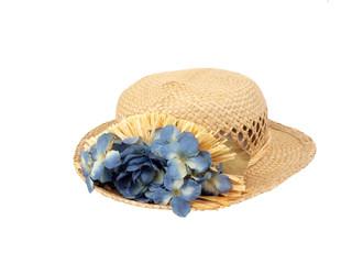 vintage hat - straw1