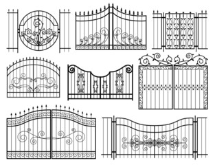 Iron Gates Icons