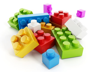 Colorful building blocks