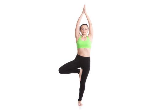 Yoga tree pose