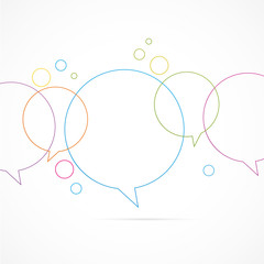 bulle dialogue-communication