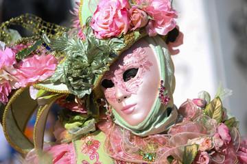 Foto op Canvas Schilderkunstige Inspiratie carnaval de Venise