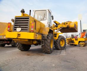 Road repairs