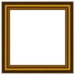 Cornice dorata quadrata