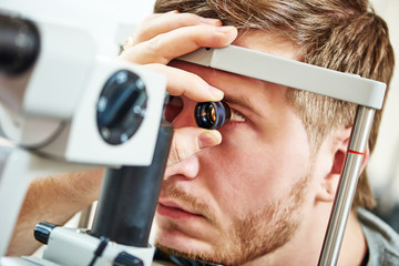 Ophthalmology eyesight examination