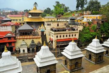 Photo sur Aluminium Népal Pashupatinath temple and cremation ghats, Khatmandu