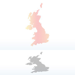 Map - United Kingdom of Great Britain and Northern Ireland with