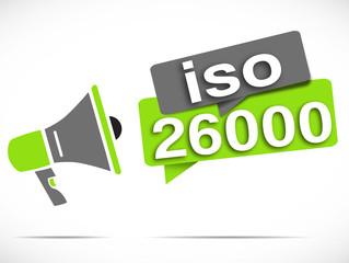 mégaphone : ISO 26000
