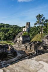 Mayan ruins at Tikal, National Park. Traveling guatemala, centra