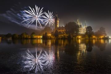 Schwerin Feuerwerk