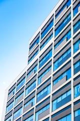 modernes Hochhaus - Glasfassade