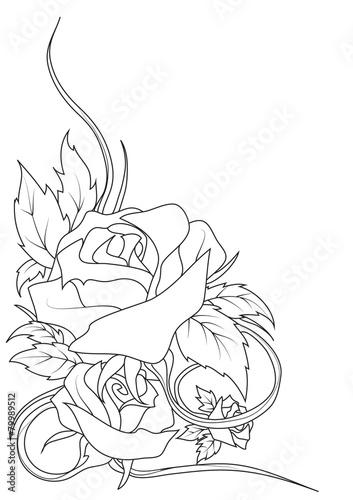 Disegno Rose Immagini E Fotografie Royalty Free Su Fotoliacom