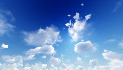 Sky clouds. 3d