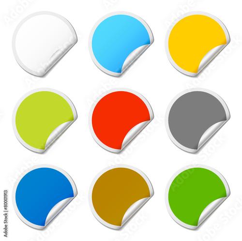 pastilles de couleur fichier vectoriel libre de droits. Black Bedroom Furniture Sets. Home Design Ideas