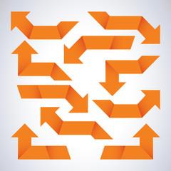 Orange arrows
