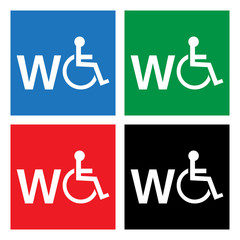 WC disabled wheelchair