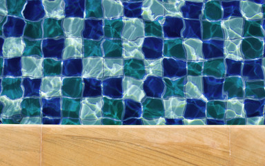 Swimming pool water background texture