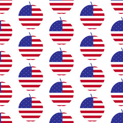American big apple pattern