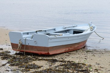 boat on a mooring