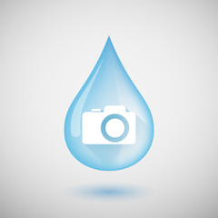 Water drop with a photo camera