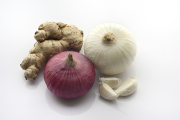 Ginger, Onion and Garlic