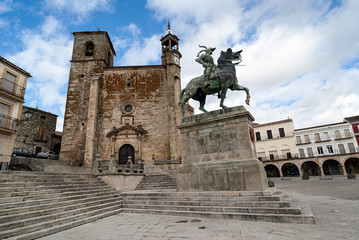 Square of Trujillo, Unesco site, Spain
