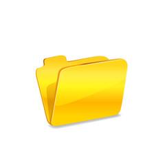 Folder vector icon.