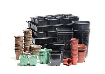 pots and boxes