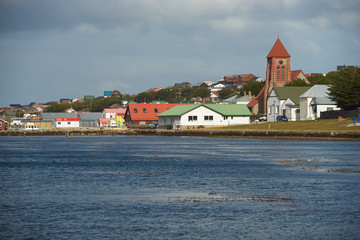 Stanley, Capital of the Falkland Islands Wall mural