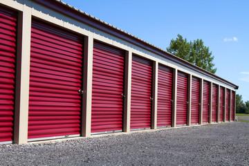 Mini Self Storage Rental Units
