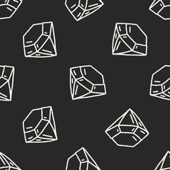 Doodle seamless pattern background