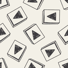 Doodle Play seamless pattern background