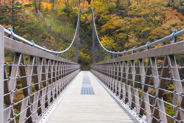 那須塩原 七ッ岩の吊橋