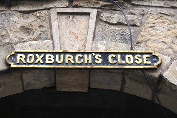 Roxburgh's Close