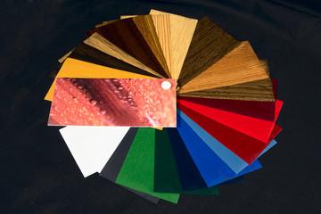 Spectrum wheel, color texture palette