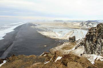 Islanda: spiaggia nera