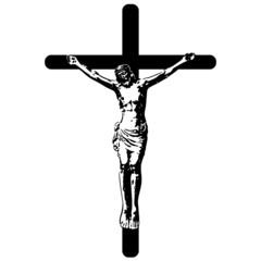 Kreuzigung Jesus Christus, Ostern, Vektor, freigestellt