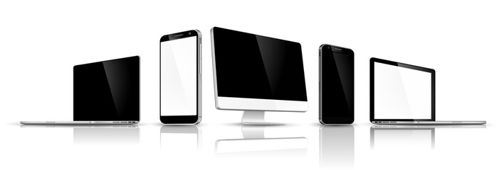 Set of modern devices