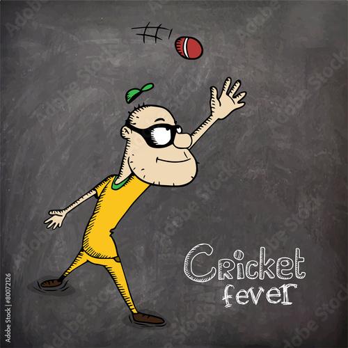 cricket chalkboard
