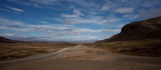 Fototapeta islanda deserto