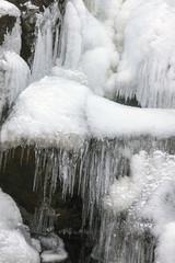 Islanda, cascata ghiaccita