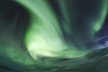 Islanda: l'aurora boreale, la luce
