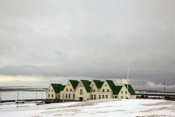 Islanda, un gruppo di case