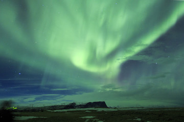 Islanda: l'aurora boreale, senza parole