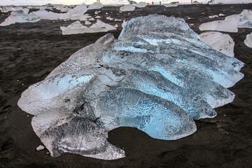 Islanda: iceberg sulla spiaggia
