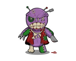 Mad Voodoo Doll