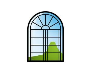 Window Vintage Logo