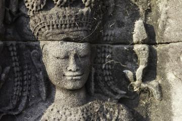 Beautiful Stone Carving, Angkor Wat, Cambodia