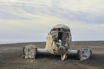 il relitto aereo Islandese a Sólheimasandur
